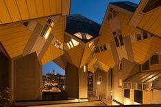 Name: Kubuswoningen | Architect: Piet Blom | Location: Rotterdam, The Netherlands | Year: 1984