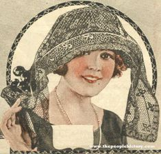Drape Hat 1921