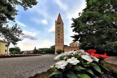 Abbazia di Pomposa.Codigoro. Emilia Romagna.Italy.