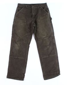 8feede8d8 Details about Carhartt Brown Mens USA Size 33x32 Carpenter Original  Dungaree Fit Pants $49 096