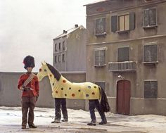 Paolo Ventura, Winter Stories (Sunday Afternoon) Digital print on diasec and dibond 102 x 127 cm, edition of 5 Contemporary Photography, Fine Art Photography, Photography Gallery, Mardi Gras, Festival Photo, Circus Performers, Atlas, Color Shapes, Yorkie