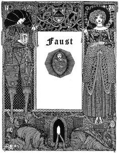 Faust by Johann Wolfgang von Goethe  Illustrated by Harry Clarke