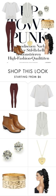 """Untitled #411"" by forever-laughing-818 ❤ liked on Polyvore featuring Topshop, Warehouse, Ippolita, IBB and Charlotte Russe"