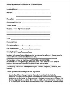 Free Download Roommate Agreement  How To Create Your Own Roommate