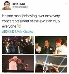 Why wouldn't he exo basically brings the money in