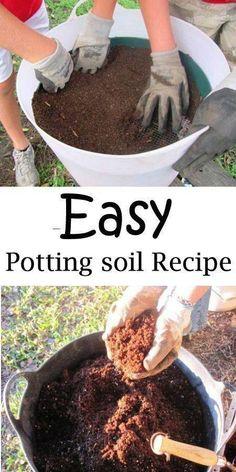 Coffee Filter as flower pots Soil Saver