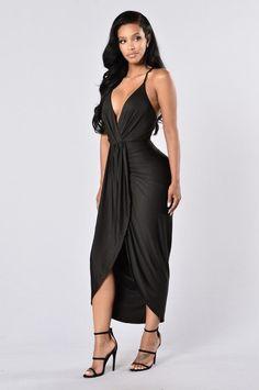 - Available in Black and Mocha - V Neckline - Drape Front - Hi Low Hemline - Criss Cross Back - 90% Polyester, 10% Spandex
