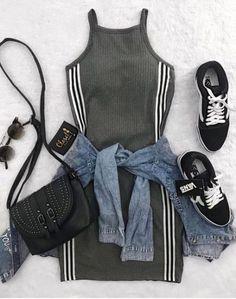 Ideas fashion high dress style Source by outfits moda Girls Fashion Clothes, Teen Fashion Outfits, Cute Fashion, Outfits For Teens, Fashion Fashion, Fashion Dresses, Fashion 2018, Trendy Fashion, Fashion Trends