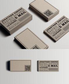 Cardboard Ticket Business Card by nazdrag.deviantart.com on @deviantART