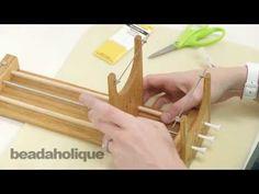 How to Use the Ricks Beading Loom - YouTube