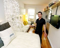 That is one awesome, very teeny apt!
