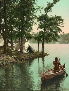 14 Rare Color Photos Of Native Americans Taken In The 19th and 20th Centuries