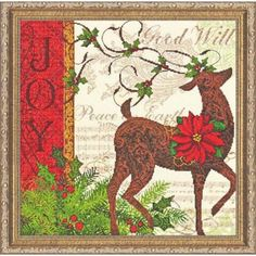 Dimensions® Winter Reindeer Counted Cross-Stitch
