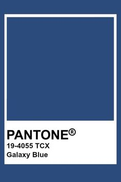 Pantone Classic Blue is the color of the Year