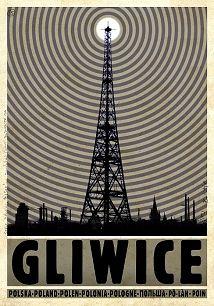 Gliwice, polski plakat turystyczny
