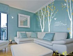 I love the wall decals...