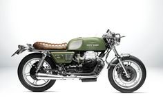 Moto Guzzi 850 Cafe Racer T4 Designed by South Garage #motorcycles #caferacer #motos | caferacerpasion.com