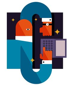 Time Zone by Stefano Marra #vectorillustration
