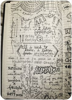 Doodle journal page.