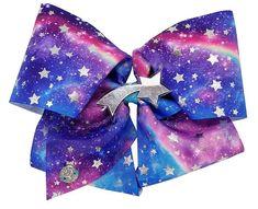 Jojo Siwa Signature Blue n Purple Galaxy Print Bow - JCPenney Jojo Hair Bows, Jojo Bows, Prayer For Daughter, 9 Year Old Girl Birthday, Jojo Siwa Birthday Cake, Hello Kitty Rooms, Unicorn Rooms, Butterfly Black And White, Jojo Siwa Bows
