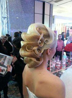 Up do #weddings #wedding ideas #bridal hairdos
