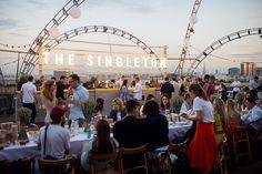 Светская хроника: гости вечеринки Simple Pleasures Rooftop P...