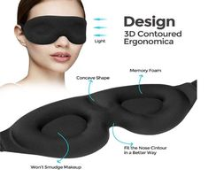 Do you want to sleep well without any disturb? Now you can use Sleeping Masks to help you solve your problem while you are sleeping Smudged Makeup, Sleeping Issues, While You Were Sleeping, Large Eyes, Sleep Mask, Smudging, Memory Foam, Traveling, Lights