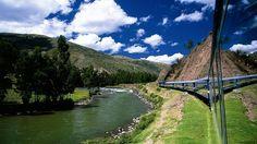 Hiram Bingham Train: Hiram Bingham train is a luxury train which offers a once in a lifetime trip to UNESCO world heritage center Machu Pichhu .