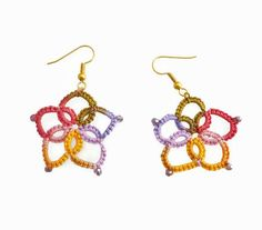 Hey, I found this really awesome Etsy listing at https://www.etsy.com/uk/listing/509217336/colourful-lace-flower-earrings