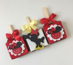 Happy Birthday Disney, Minnie Mouse 1st Birthday, Mickey Minnie Mouse, Boy Birthday Parties, 2nd Birthday, Brownie Pops, Bday Girl, Party Buffet, Food Themes