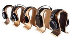 SIEVEKING SOUND OMEGA HEADPHONE STAND (WALNUT)-Elusive Disc