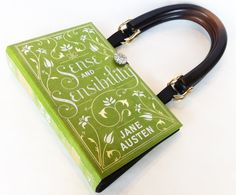 Sense and Sensibility Book Purse - Jane Austen Book Purse or Book Clutch on Etsy, £34.31