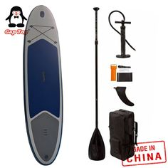 China Best 2019 Inflatable Stand Up Paddle Board for your paddling, fishing just like a viking!The shape is lightweight and is perfect as an all-around SUP or for surfing small waves. Sup Paddle Board, Sup Stand Up Paddle, Inflatable Sup Board, Sup Surf, Folded Up, Paddle Boarding, Surfboard, Kayaking, Surfing