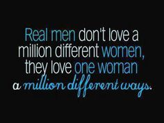 Yeah for all the real men!