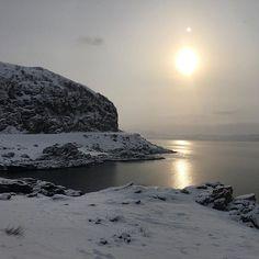 71 degrees north - the road to Havøysund @visitmasoy @northernnorway #finnsta #yrbilder #nrkfinnmark #politiken_rejser #mittnordnorge #roadtrip #arctic #norway