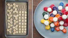 Fidget spinner -keksit pyörivät kuin aidot sormihyrrät. Copyright: Kuvakaappaus: Buzzfeed Video. Buzzfeed Video, Plastic Cutting Board, Cake, Kuchen, Torte, Cookies, Cheeseburger Paradise Pie, Tart, Pastries