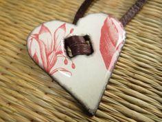 Heart on my sleeve wrap bracelet by valkirytails on Etsy, $30.00