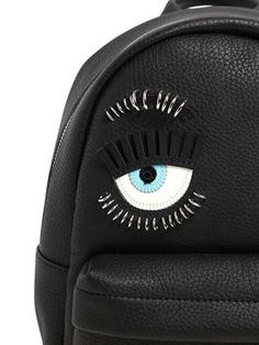 chiara ferragni - women - backpacks - piercing flirting eyes mini backpack