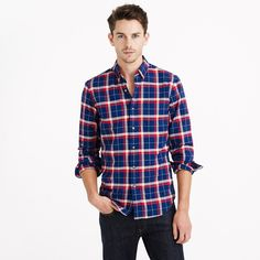Slim Vintage Oxford Shirt in Haven Blue Plaid on J.Crew #poachit Found a product you love? Want a better price? Then Poach it! Get working coupons while you shop online or track any item from any store - we'll email you once it goes on sale.