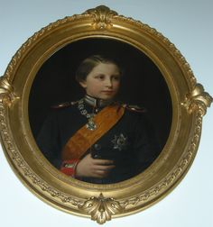 Minna Pfüller (1824-1907)    Prince William of Prussia (1859-1941), later Emperor William II of Germany  May 1869  Oil on canvas | RCIN 400770