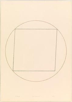 Robert Mangold. Circle Drawing #8. 1973