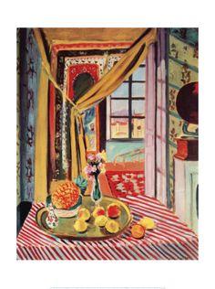 Interior with Phonograph, Henri Matisse