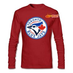 Toronto Blue Jays Long Sleeve The Toronto Blue Jays are the US Major League Baseball Team in Toronto, Canada. They belonged to the Eastern Conference of the American League and were the only non-American team ever to win a World Series.This Team Logo Long Sleeve is your choice. It is our best seller Baseball Scoreboard, Rangers Baseball, Texas Rangers, American Baseball League, Major League Baseball Teams, Toronto Blue Jays Logo, Nice Tops, Tee Shirts, Tees