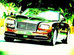 """RR Wraith"" by Dietmar Scherf #luxury #car #Warhol #wallstreet #garage #wealth #lifestyle"