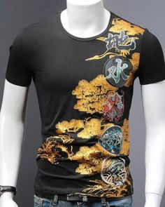 18d78154 27 Best dragon t shirt for men images   Chinese style, Large size ...