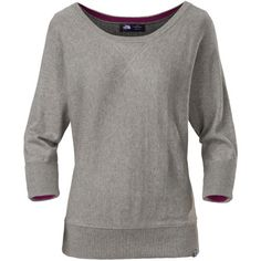 The North Face Women's Meadowmere Sweater adds some extra style to your wardrobe this autumn. Its blend of cotton, wool, and cashmere provides an unbelievably smooth feel.