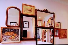 Mirror collage courtesy of Genevieve Gorder