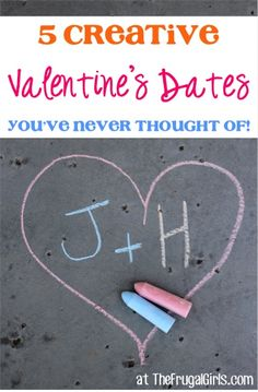 5 Creative Valentine's Day Dates You Never Thought Of! ~ at TheFrugalGirls.com - you'll LOVE these fun and special Valentine Date Ideas!