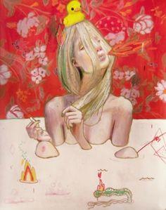 "Alexandra Levasseur  ""I prefer drawing to talking."""