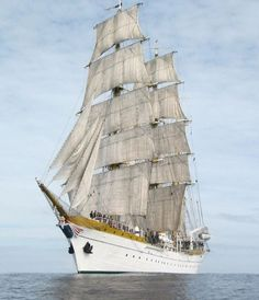 "gabrielherman: ""Romanian Navy tallship ""Mircea"" """